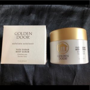 GOLDEN DOOR Yuzu Sugar Body Scrub NEW NIP